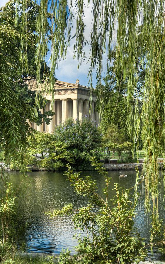 Parthenon Photograph - A View Of The Parthenon 5 by Douglas Barnett