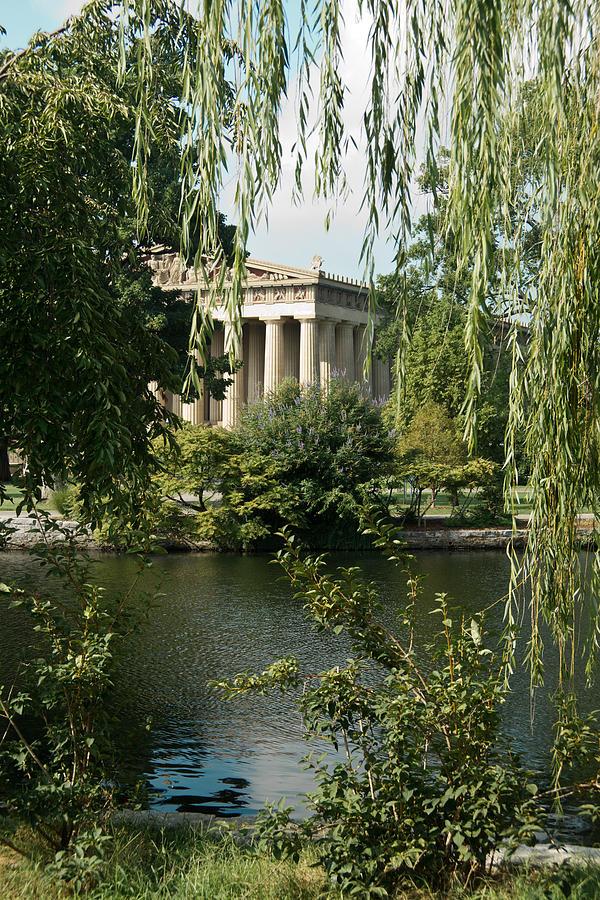Parthenon Photograph - A View Of The Parthenon 6 by Douglas Barnett