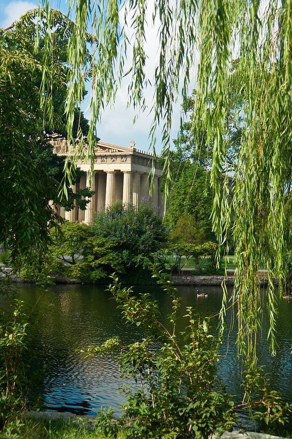 Parthenon Photograph - A View Of The Parthenon 7 by Douglas Barnett