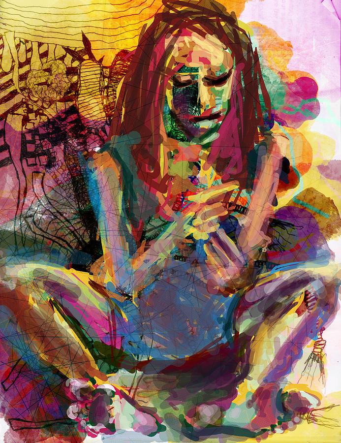 Abstract Digital Art - A Vision by James Thomas
