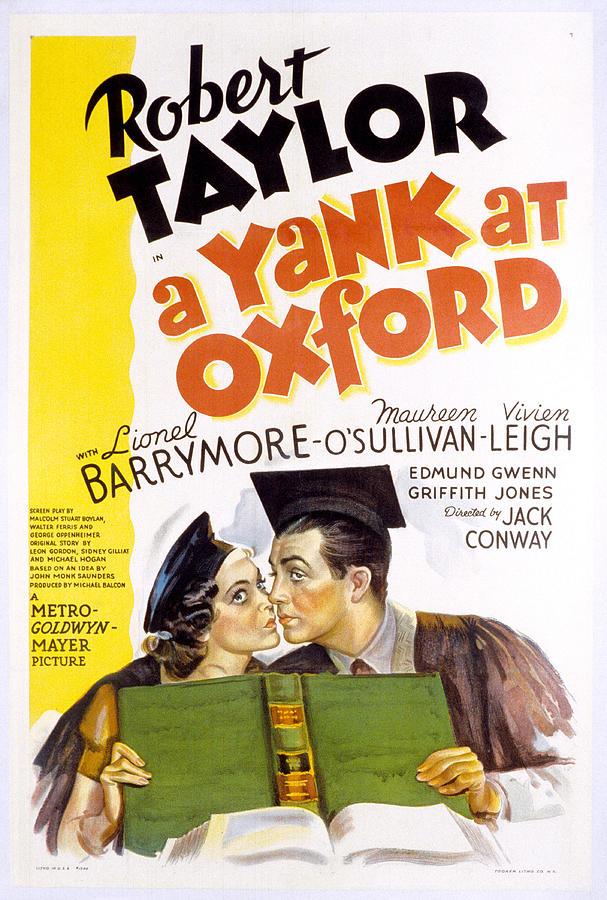 1930s Movies Photograph - A Yank At Oxford, Maureen Osullivan by Everett