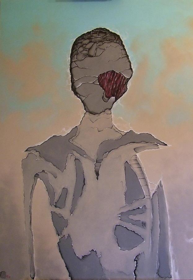 Surreal Painting - A_04 by Marek Kasprzak