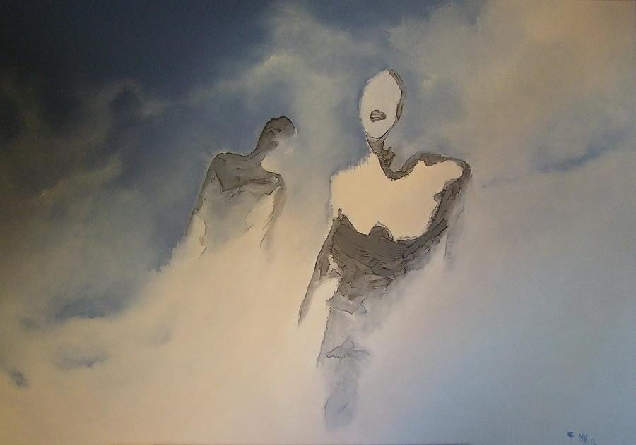 Surreal Painting - A_06 by Marek Kasprzak