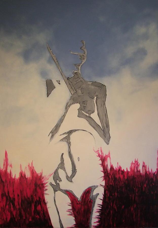 Surreal Painting - A_07 by Marek Kasprzak