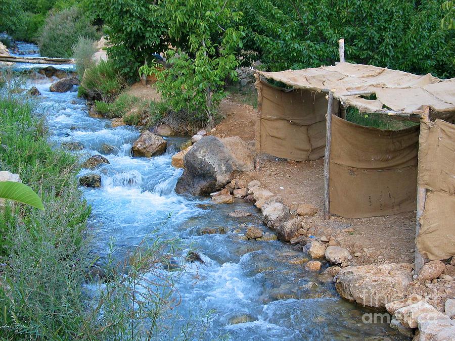 River Photograph - Aawaj River by Issam Hajjar