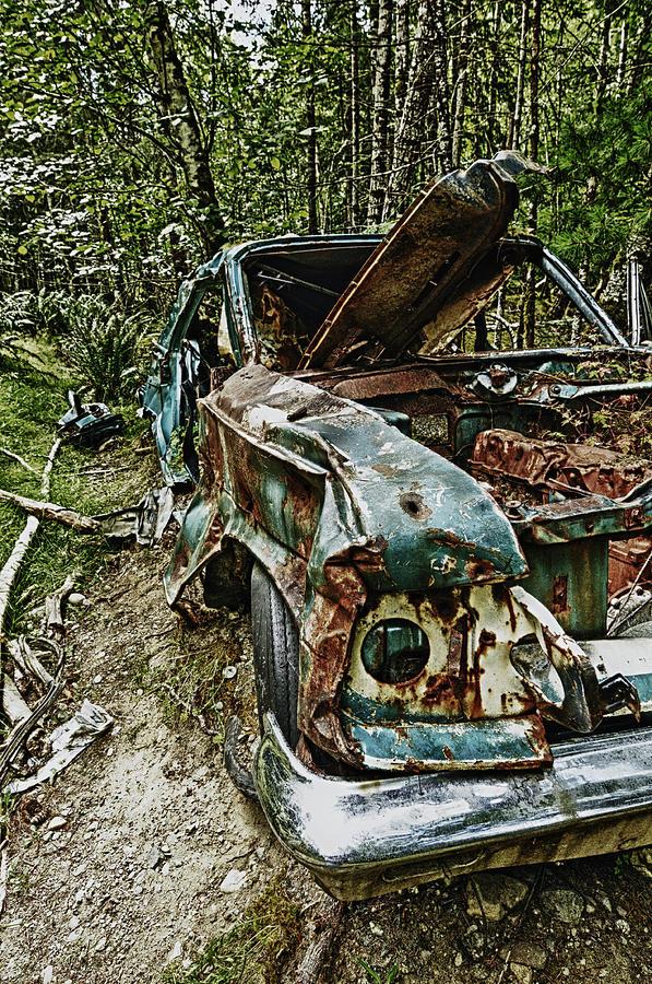 Abandoned Photograph - Abandon Car by Greg Horler