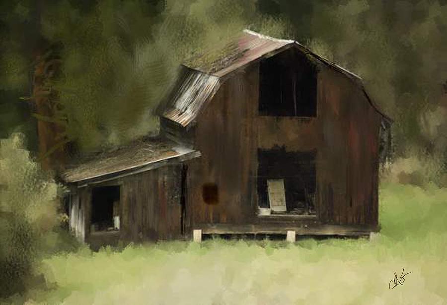 Barn Photograph - Abandoned Barn by Dale Stillman