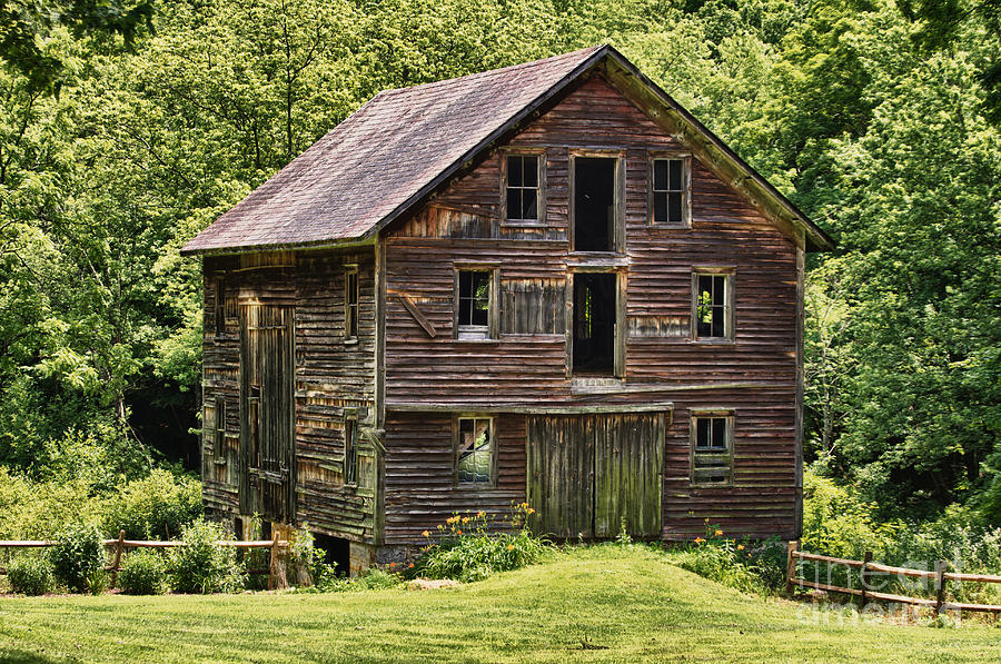 Abandoned Barn In Pennsylvania Photograph By Robert Wirth