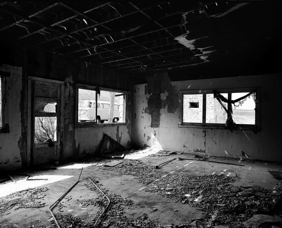 Abandoned Building Photograph by Ashlee Meyer
