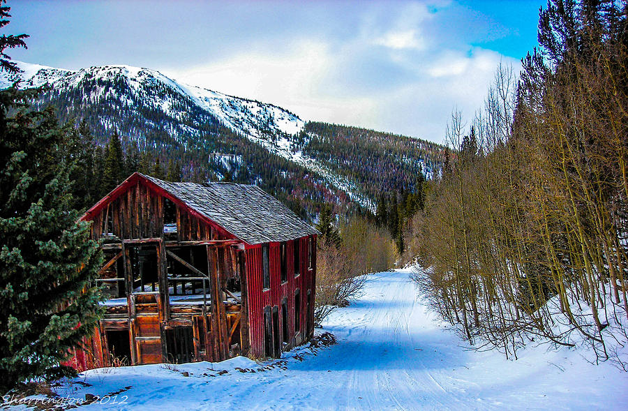 Colorado Photograph - Abandoned Building by Shannon Harrington