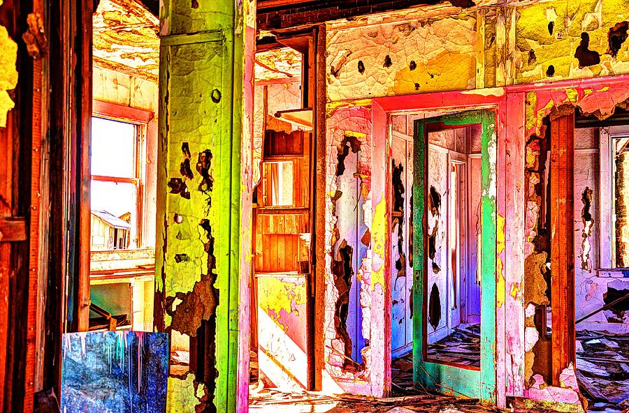 Abandoned Color  Photograph by Daniel Morgan
