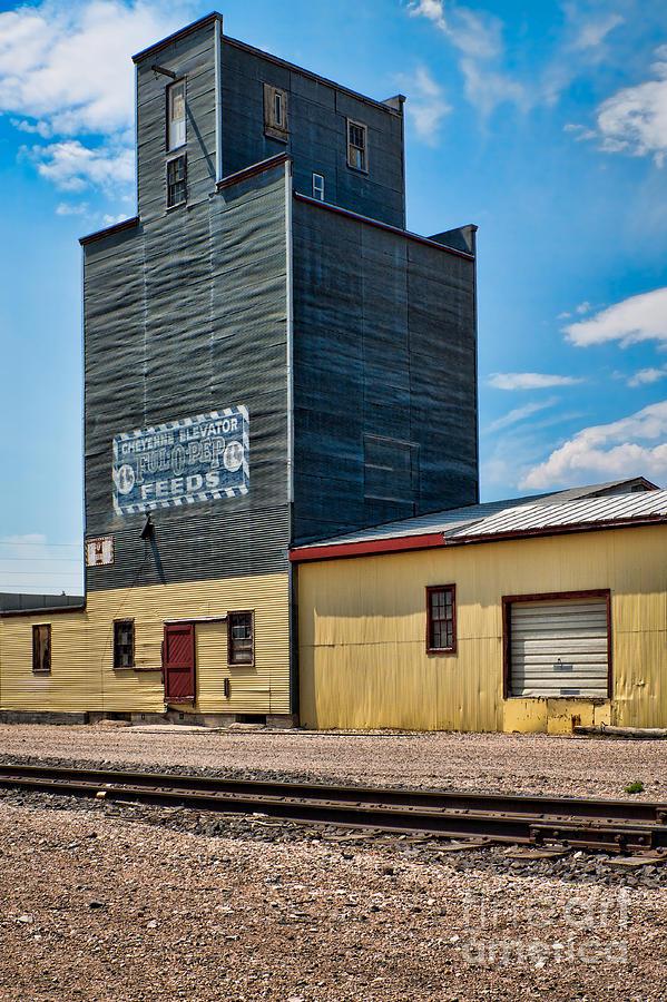 Abandoned Photograph - Abandoned Feed Elevator by Lawrence Burry