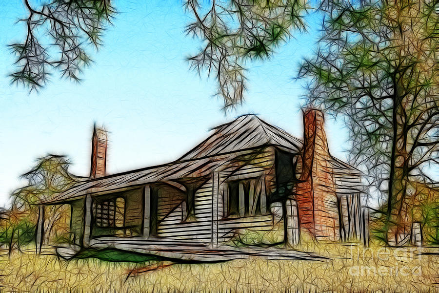 Abandoned Homestead Photograph by Brian Gunter