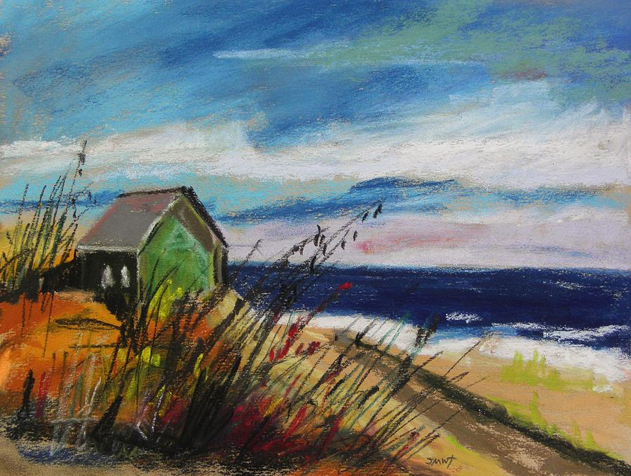 Pastels Painting - Abandoned by John Williams