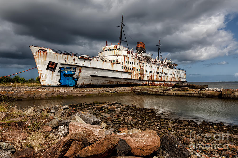 Abandoned Photograph - Abandoned Ship by Adrian Evans