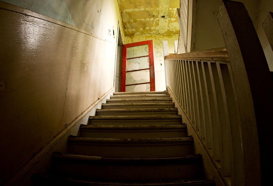 Abandoned Staircase Photograph