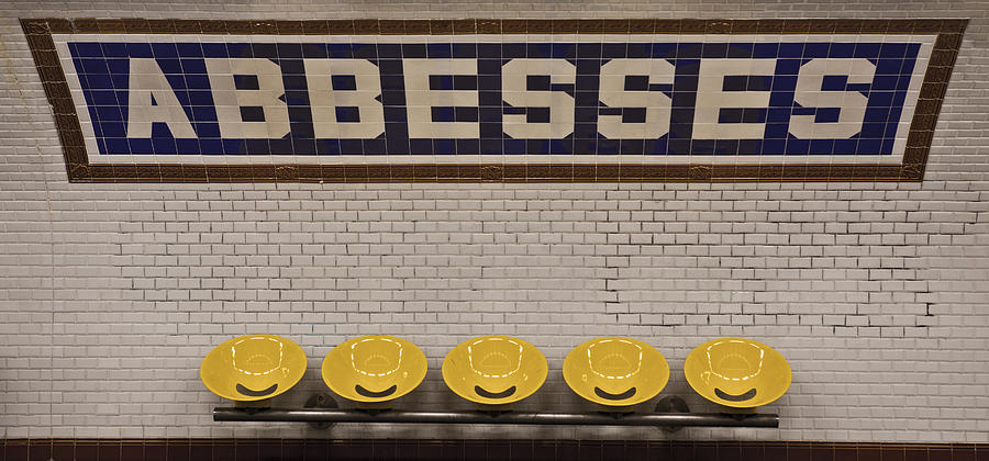 Abbesses Photograph - Abbesses by Jonathan Ellison
