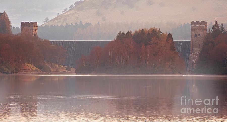 Derwent Reservoir Photograph - Abbey Island by Nigel Hatton