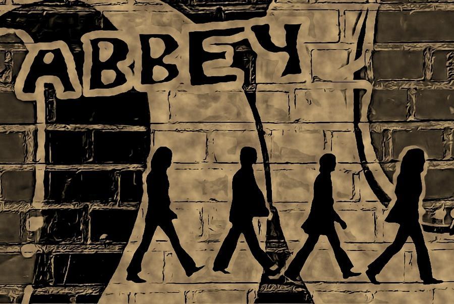 Beetles Mixed Media - Abbey by ABA Studio Designs