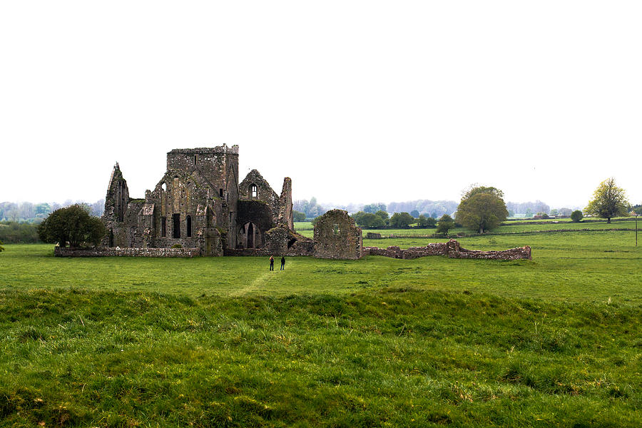 Ireland Photograph - Abbey Ruins by Kelly Turnage