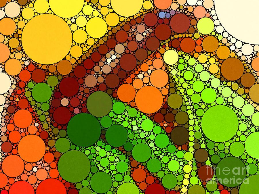 Vegetables Digital Art - Abbondanza by Christine Segalas