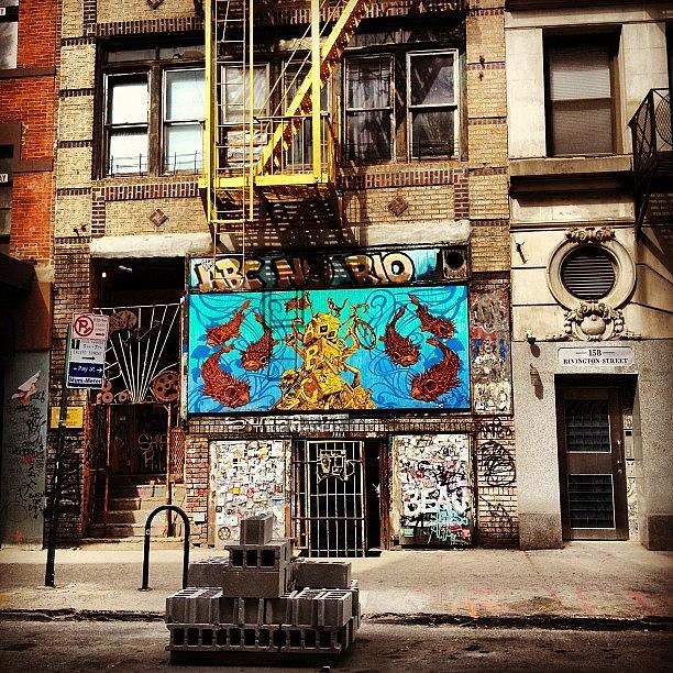 New York City Photograph - ABC No Rio - Lower East Side - New York City by Vivienne Gucwa