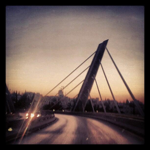 Bridge Photograph - Abdoun Bridge, Jordan - Amman by Abdelrahman Alawwad