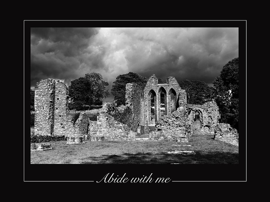 Inch Abbey Photograph - Abide With Me by David McFarland