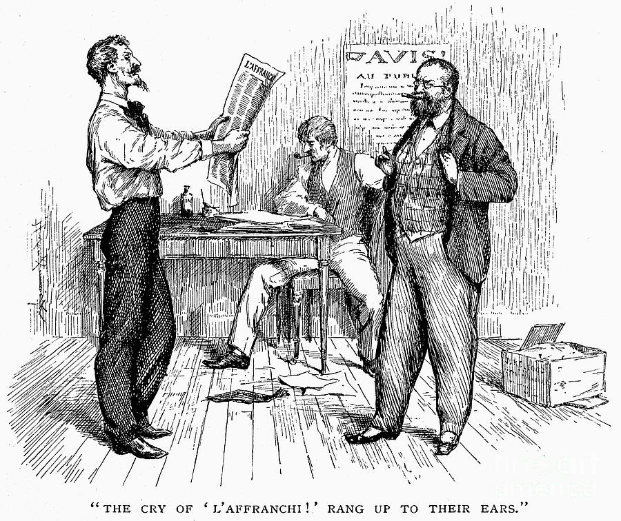 1850s Photograph - Abolitionist Newspaper by Granger