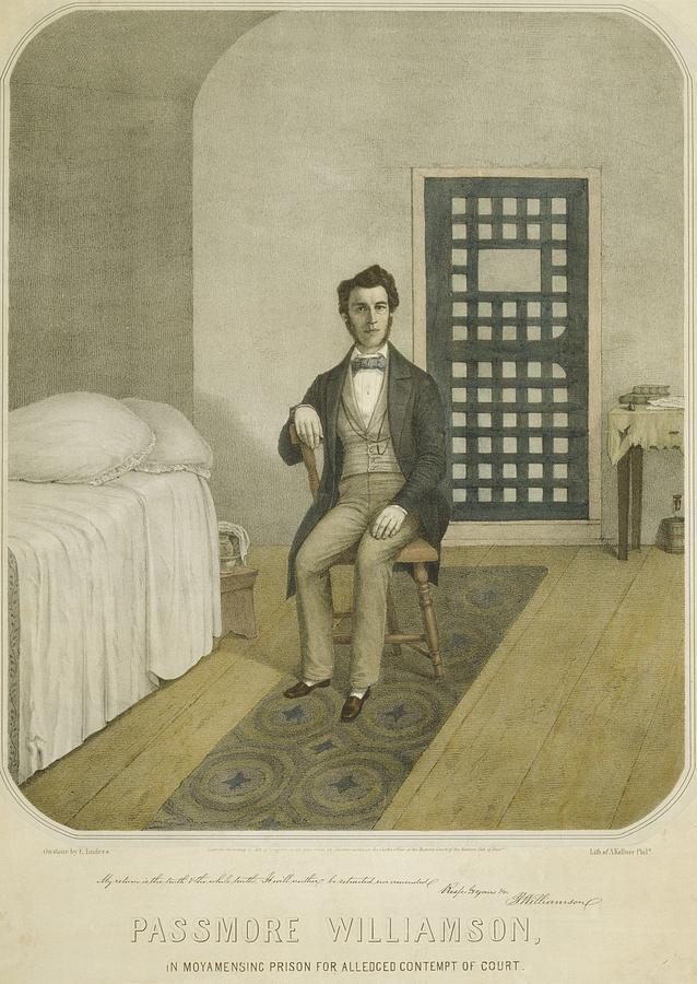 History Photograph - Abolitionist Passmore Williamson by Everett
