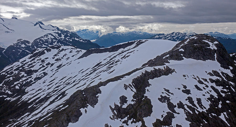 Frederick Sound Photograph - Above The Ridge by Mike Reid