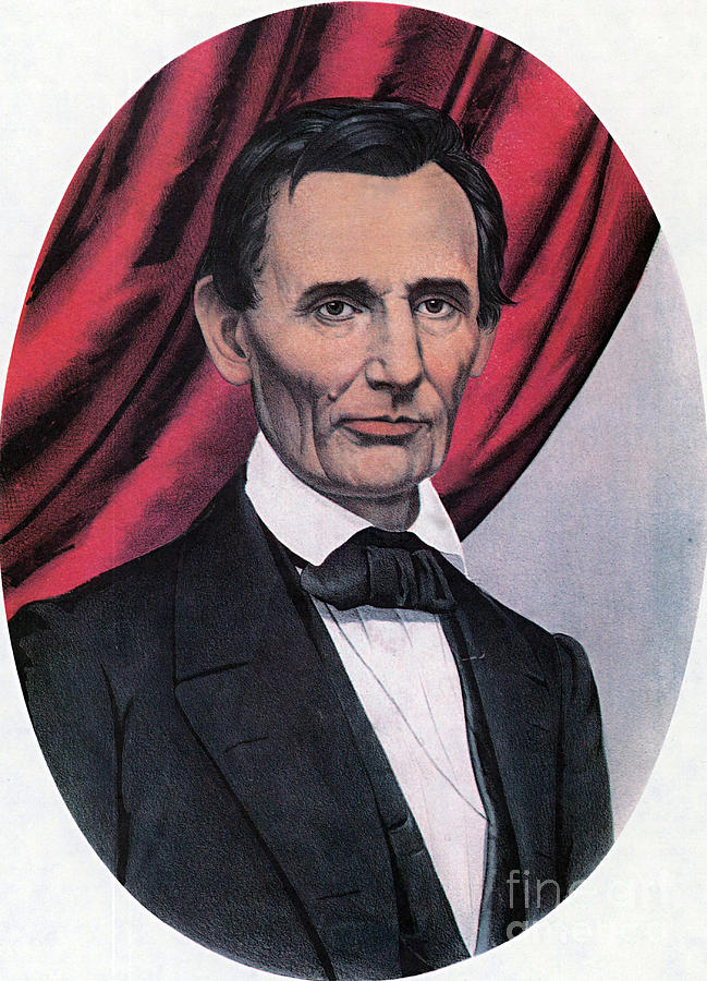 History Photograph - Abraham Lincoln, Republican Candidate by Photo Researchers