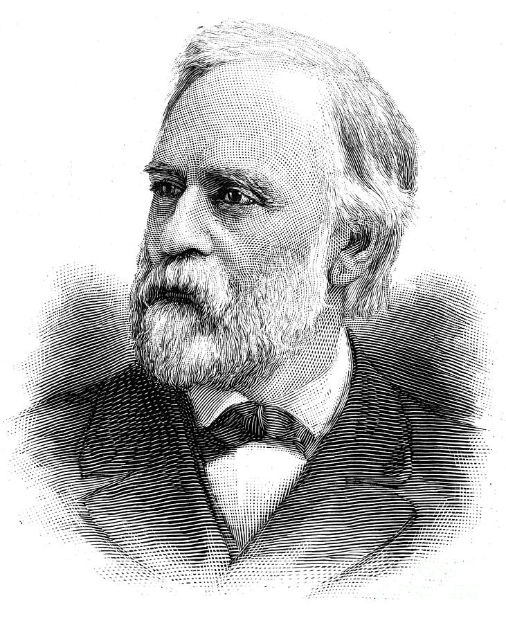 1886 Photograph - Abram Stevens Hewitt by Granger