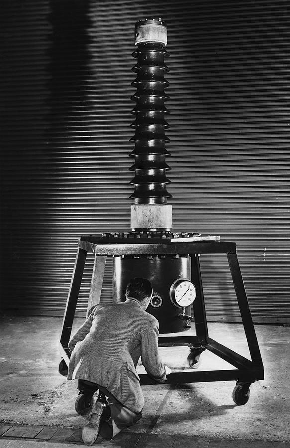 Human Photograph - Absolute Voltmeter, 1951 by National Physical Laboratory (c) Crown Copyright