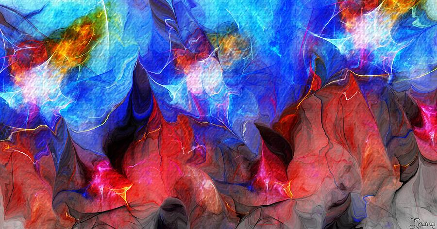 Fineart Digital Art - Abstract 032812a by David Lane