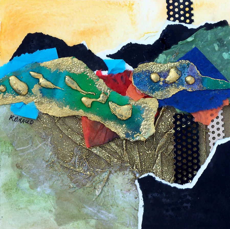 Painitng Painting - Abstract 2011 No.1 by Kathy Braud