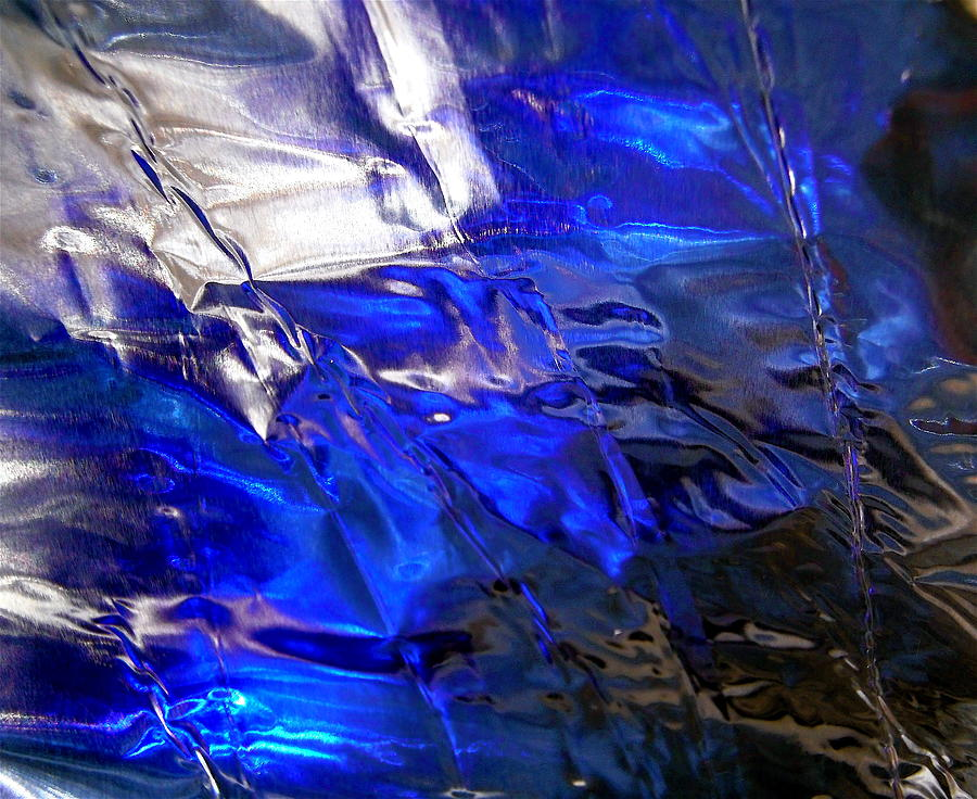 Blue Photograph - Abstract 3158 by Stephanie Moore