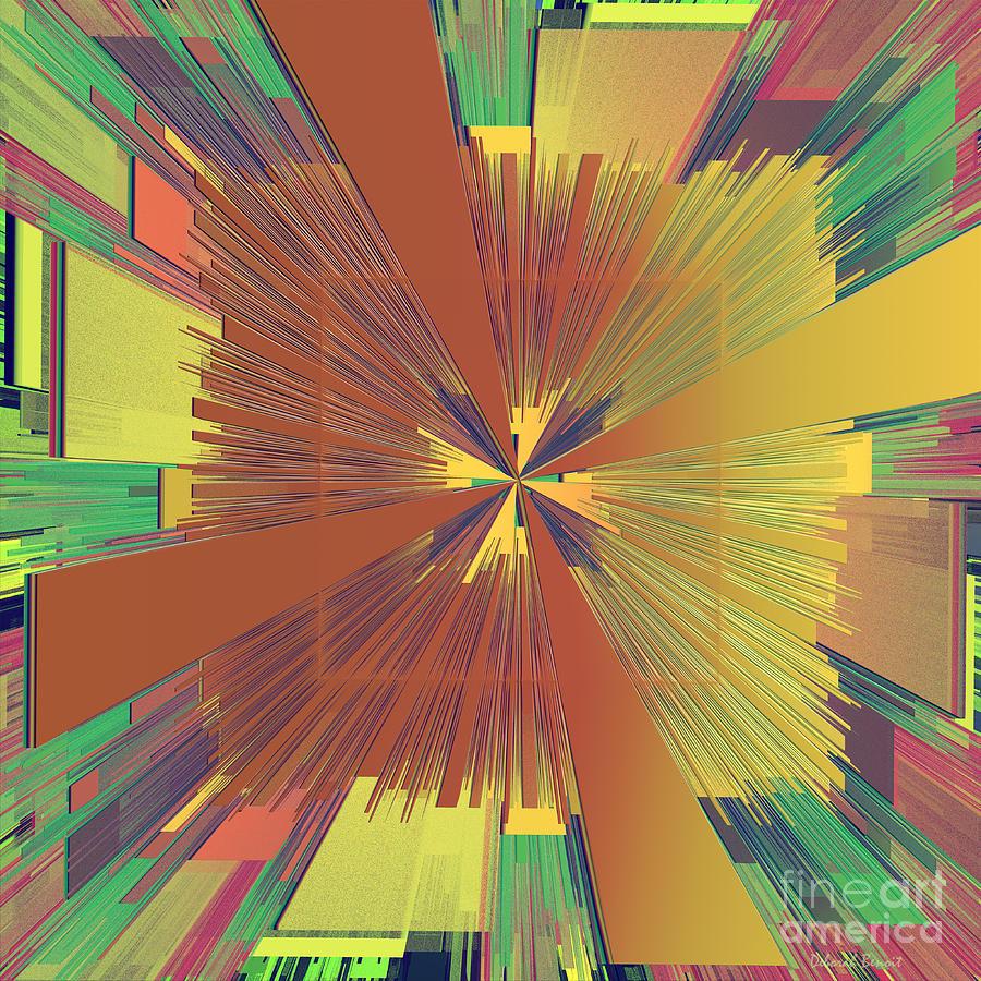 Abstract Digital Art - Abstract 4 by Deborah Benoit