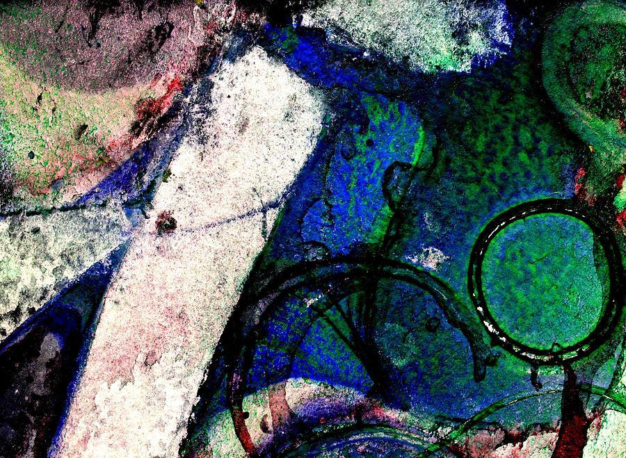 Abstract Landscape Mixed Media - Abstract 56 by John  Nolan