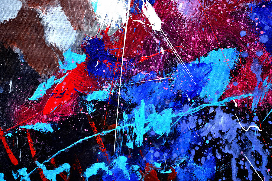 Abstract Painting - Abstract 71001 by Pol Ledent