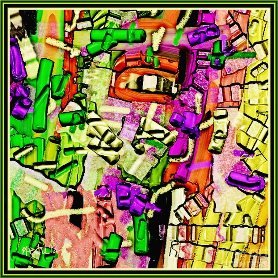 Paintings Painting - Abstract 765 by Nedunseralathan R