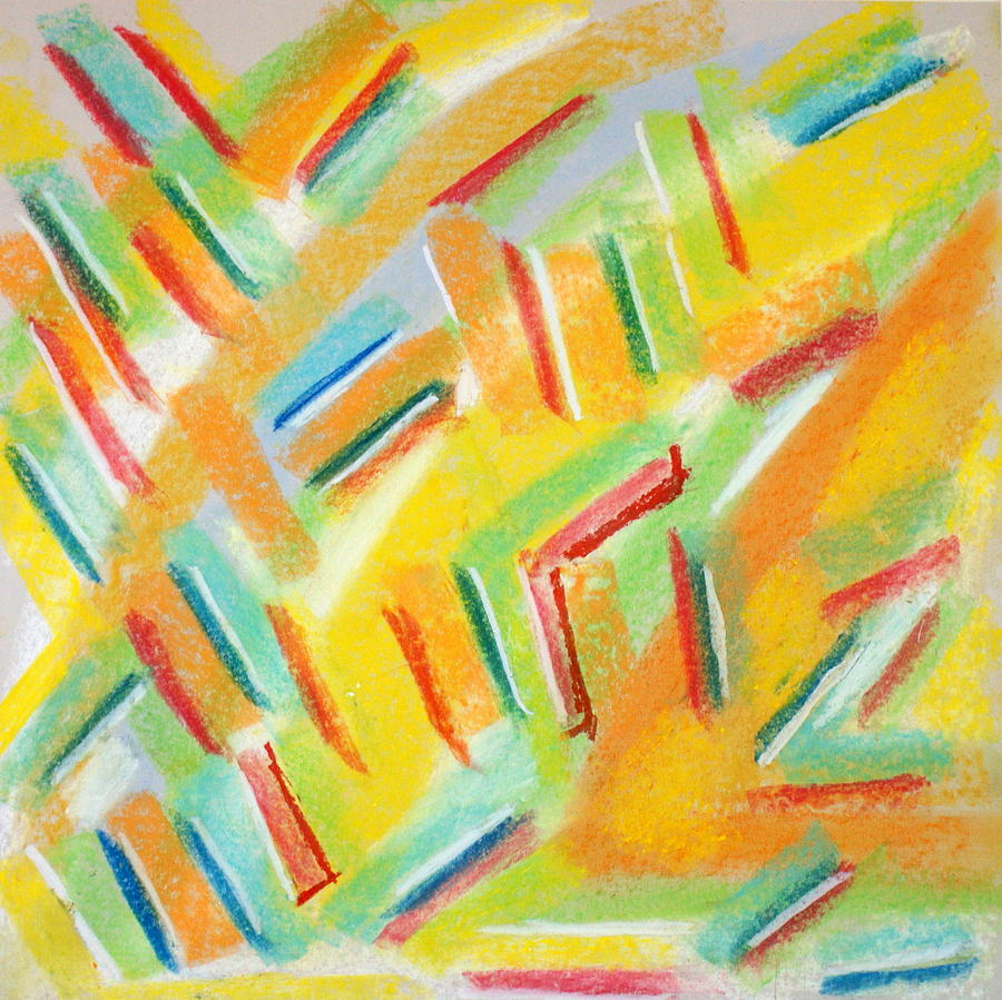 Abstract Painting - Abstract 77 by Sandra Conceicao