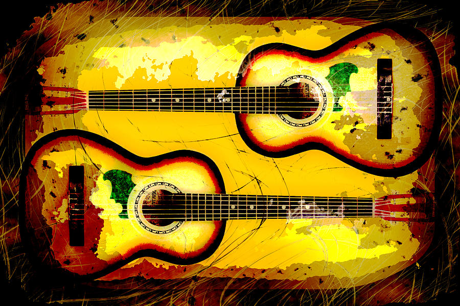 Acoustic Photograph - Abstract Acoustic by David G Paul