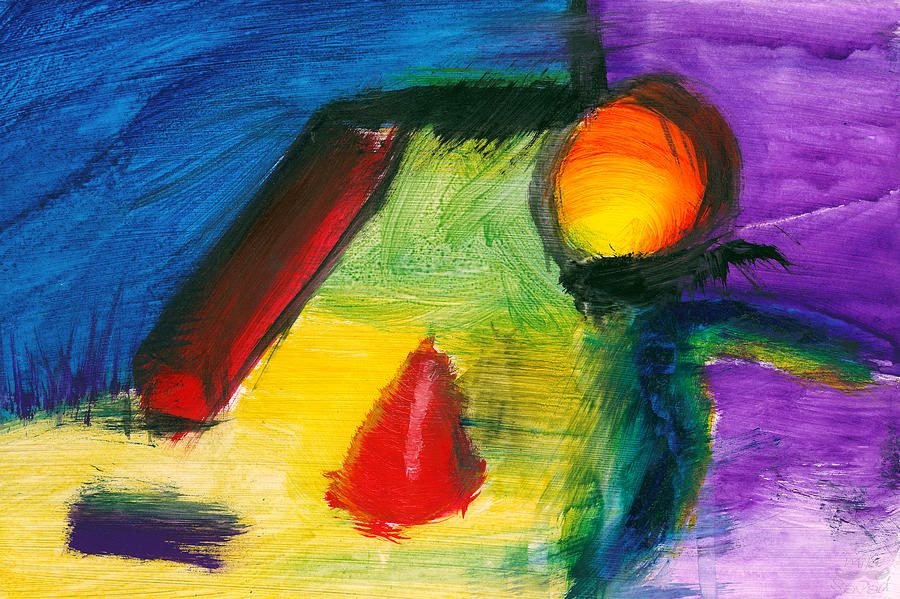Abstract Painting - Abstract - Acrylic - Primitives by Mike Savad