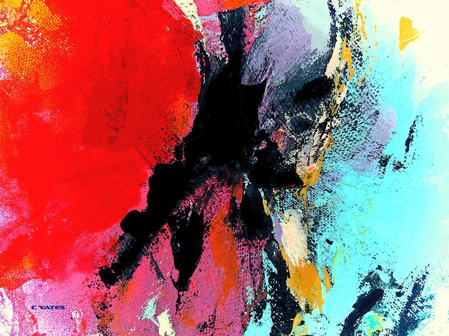 Charles Yates Painting - Abstract Admixture by Charles Yates