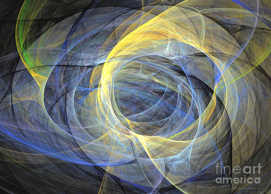Impressionism Mixed Media - Abstract Art - Delightful Mood Of Abstracted Mind by Abstract art prints by Sipo