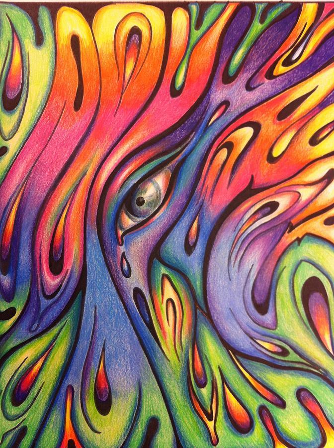 Abstract Art Drawings Drawing by Natasha Russu Abstract Drawing