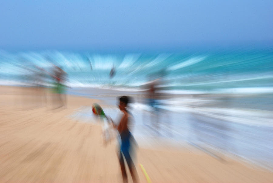 Spain Photograph - Abstract Beach by Perry Van Munster