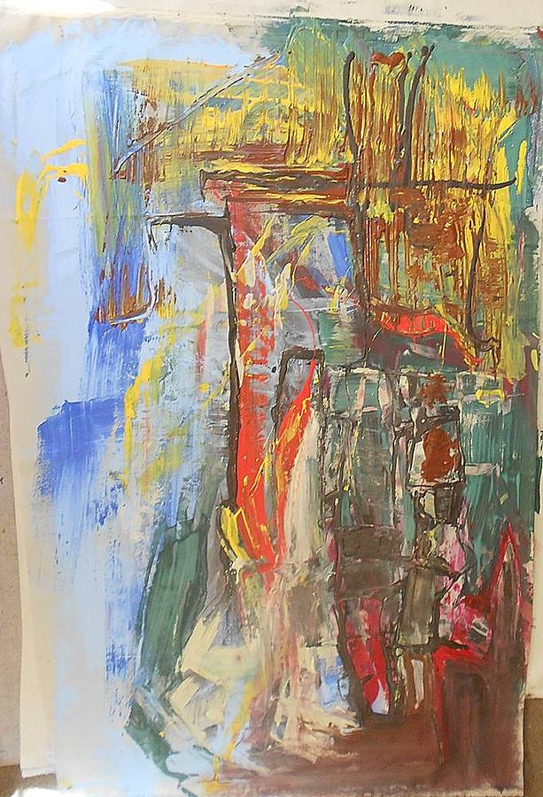 Abstract Delight Painting by Ulrich De Balbian