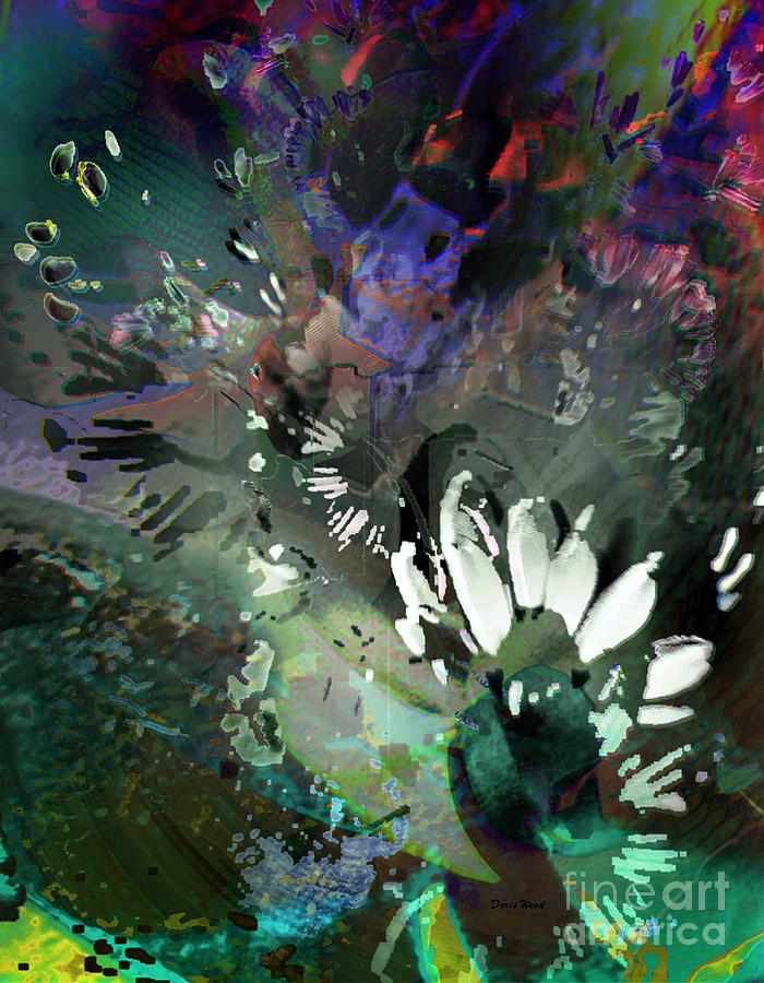 Dreamscape Digital Art - Abstract Dreamscape Number 2 by Doris Wood